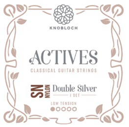 Knobloch Actives 200ADN Nylon Double Silver Low Tension