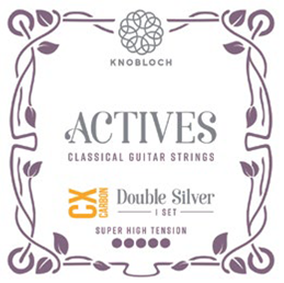 Knobloch Actives 600ADC CX Carbon Double Silver Super High Tension