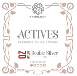 Knobloch Actives 200ADQ QZ Nylon Double Silver Low Tension