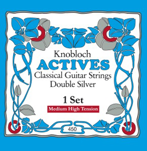 Knobloch 450 KAN Double Silver (Medium-High Tension)