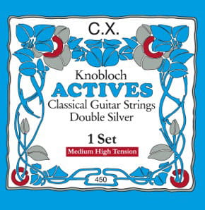 Knobloch 450 KAC Double Silver CX CARBON (Med-High Tension)