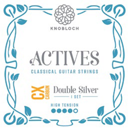 Knobloch Actives 500ADC CX Carbon Double Silver High Tension