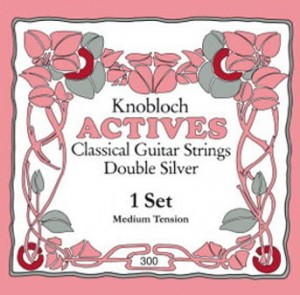 Knobloch 300 KAN Double Silver (Medium Tension)