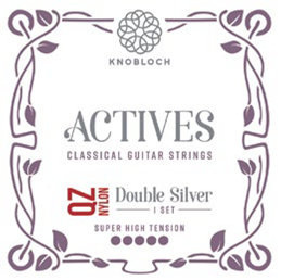 Knobloch Actives 600ADQ QZ Nylon Double Silver Super High Tension